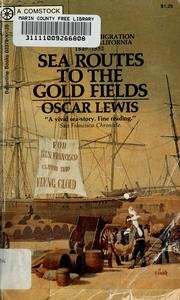 Cover of: Sea routes to the gold fields