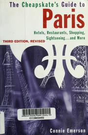Cover of: The cheapskate's guide to Paris
