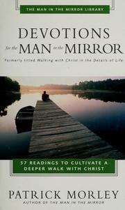 Cover of: Devotions for the man in the mirror