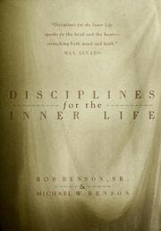 Cover of: Disciplines for the inner life