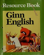 Cover of: Ginn English resource book