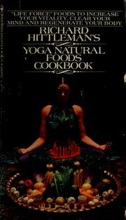 Cover of: Yoga natural foods cookbook
