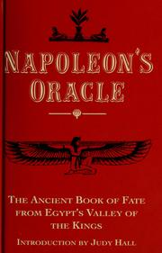 Cover of: Napoleon's oracle