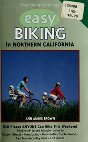 Cover of: Easy biking in Northern California