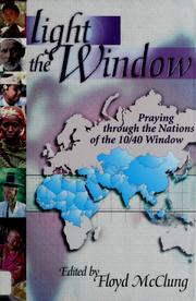 Cover of: Light the window