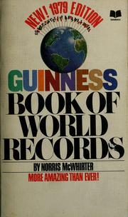Cover of: Guinness book of world records