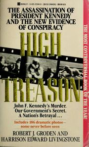 Cover of: High treason