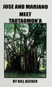Cover of: Jose and Mariano meet Taotaomon'a