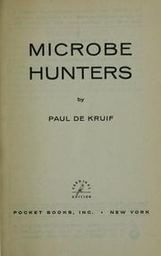 Cover of: Microbe hunters