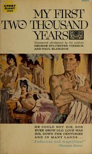 Cover of: My first two thousand years