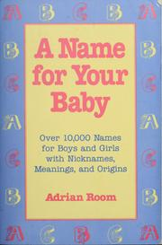 Cover of: A name for your baby