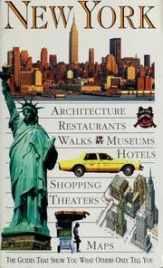 Cover of: New York