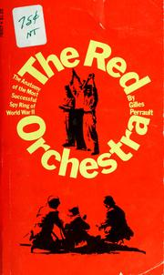 Cover of: The red orchestra