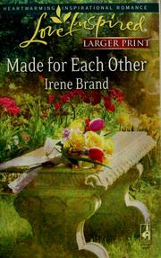 Cover of: Made for each other