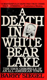 Cover of: A death in White Bear Lake