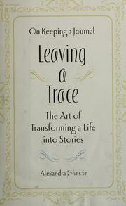Cover of: Leaving a trace
