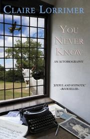 Cover of: You Never Know: An Autobiography