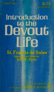 Cover of: Intrduction to the devout life
