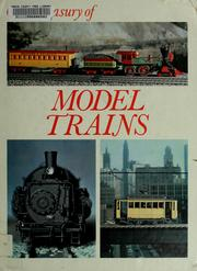 Cover of: Model trains
