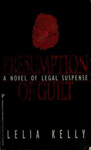 Cover of: Presumption of guilt