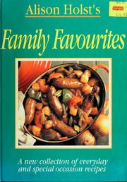 Cover of: Alison Holst's family favourites