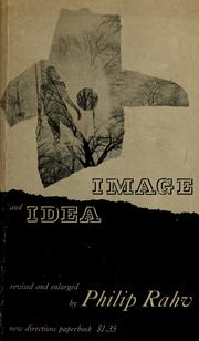 Cover of: Image and idea