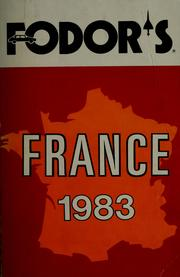 Cover of: Fodor's France, 1983