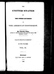 Cover of: The United States and the other divisions of the American continent