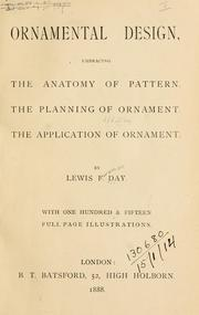 Cover of: Ornamental design, embracing The Anatomy of pattern