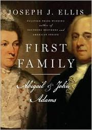 Cover of: First Family: Abigail & John Adams