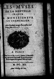 Cover of: Les muses de la Nouvelle France