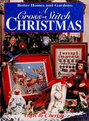 Cover of: A cross-stitch Christmas