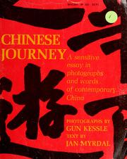 Cover of: Chinese journey