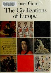 Cover of: The civilizations of Europe