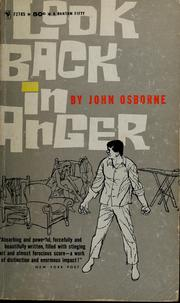 Cover of: Look back in anger