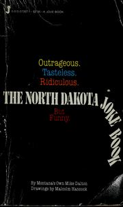 Cover of: The North Dakota joke book