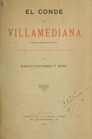 Cover of: El conde de Villamediana