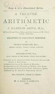 Cover of: A treatise on arithmetic