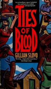 Cover of: Ties of blood