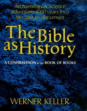 Cover of: The Bible as history