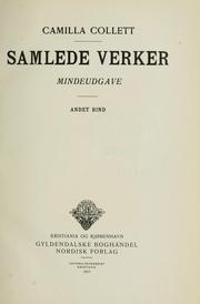 Cover of: Samlede verker