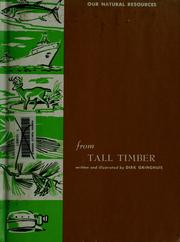 Cover of: From tall timber
