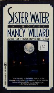 Cover of: Sister water
