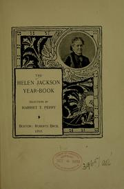 Cover of: The Helen Jackson yearbook