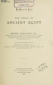 Cover of: The story of ancient Egypt