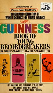 Cover of: Guinness book of young recordbreakers