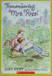Cover of: Remembering Mrs. Rossi