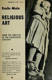 Cover of: Religious art