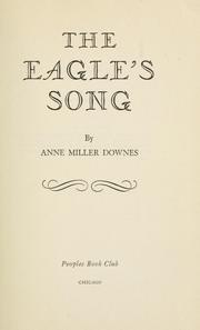 Cover of: The eagle's song