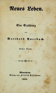 Cover of: Neues Leben